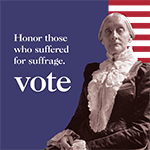 celebrate suffrage